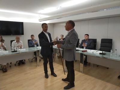 Manel Ezquerra és escollit alcalde d'Alcarràs amb els vots de Sempre Alcarràs, Junts per Alcarràs i el PSC