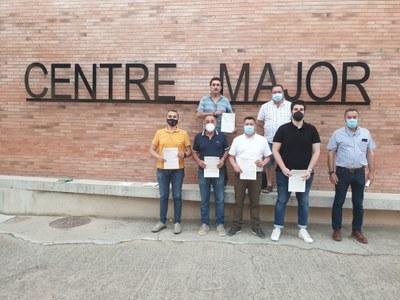 Municipis de les Terres de Lleida signen a Alcarràs un Manifest en favor de la implantació sostenible de les energies renovables